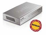 Switch ZyXEL ES-108A - 8 portowy, QoS, metalowa obudowa