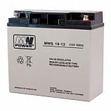 Akumulator bezobsługowy MW Power MWS 18-12 (12V 18Ah)