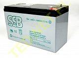 Akumulator bezobsługowy SSB SBL 7,2-12L 12V 7,2Ah