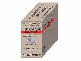 Kabel FTP MAXCABLE zewnętrzny Cu kat. 5e 305m