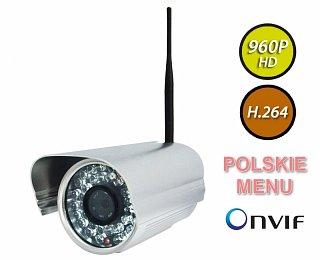 Kamera IP Foscam FI9805W - 1,3Mpix, audio, WiFi, podczerwień, IP66