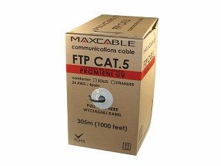 Kabel FTP MAXCABLE zewnętrzny Al/Cu kat. 5e 305m