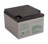 Akumulator bezobsługowy SSB SBL 26-12i 12V 26Ah