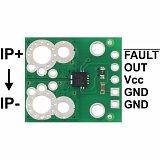 Płytka do pomiaru prądu ACS711EX (-31A do +31A)