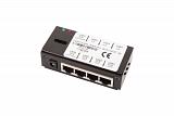 Adapter MultiPoE - 4 porty w obudowie (zasilanie z portu LAN!)