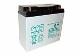 Akumulator bezobsługowy SSB SBL 18-12 12V 18Ah