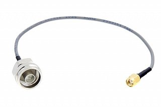 Pigtail PREMIUM RP-SMA wtyk - Nm - 25cm (Belden RF100LL)