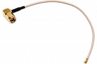 Pigtail U.FL - SMA wtyk kątowy - 15cm
