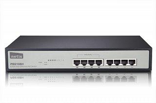 Switch Netis PE6108H - 8 portowy, 4 porty PoE 802.3af