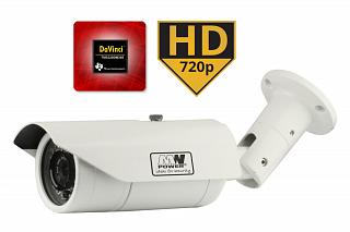 Kamera IP MW Power IP40-720P-MZ - 1Mpix, 720P, 25fps, 2,8-12mm, f2.0, IR 40m