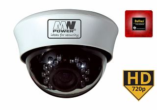 Kamera IP MW Power KIP20-720P-MZ - 1Mpix, 720P, 25fps, 2,8-12mm, f2.0, IR 20m