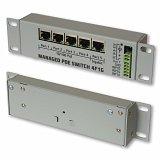 Switch PoE 4F1G 5-port (4x100Mb+1Gb) 9-53V (zarządzalny)