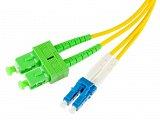 Patchcord optyczny OPTON SC/APC-LC/UPC duplex SM 9/125 - 1m
