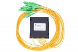 Splitter PLC 1x8, ABS Box, SM 2mm 1m, SC/APC