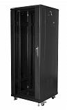 """Szafa rack Lanberg 19"""" 32U/600x600mm drzwi szklane, stojąca, czarna (FF01-6632-12B)"""