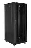 """Szafa rack Lanberg 19"""" 32U/600x800mm drzwi szklane, stojąca, czarna (FF01-6832-12B)"""