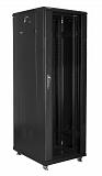 """Szafa rack Lanberg 19"""" 37U/600x800mm drzwi szklane, stojąca, czarna (FF01-6837-12B)"""
