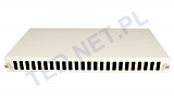 """Przełącznica światłowodowa Tracom 19"""" 1U 24xSC Duplex (2xP4112 v.2)"""