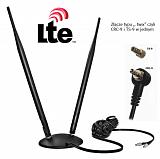 Antena LTE Diablo 9dBi - wtyki Twix CRC9 / TS9