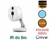 Kamera IP Foscam C2 - 2Mpix, audio, WiFi, P2P, podczerwień