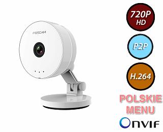 Kamera IP Foscam C1 Lite - 1Mpix, audio, WiFi, P2P