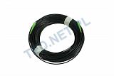 Patchcord optyczny zewnętrzny OPTIX AirFlow DROP S-QOTKSdD SC/APC-SC/APC simplex SM 9/125 - 100m