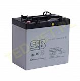 Akumulator bezobsługowy SSB SBL 55-12i 12V 55Ah