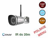 Kamera IP Foscam FI9800P - 1Mpix, audio, WiFi, P2P, podczerwień, IP66