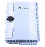 Przełącznica nasłupowa Extralink JZ1321-16G (FDB0216PG-D) - 2 wejścia, 16 wyjść