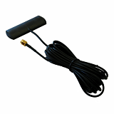 Antena Interline Surfer Mini GSM/3G-UMTS/LTE - 5m RG174 + RP-SMA/TS-9/CRC-9