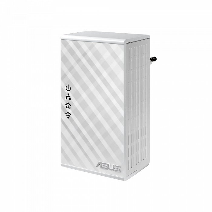 how to connect powerline adapter to asus