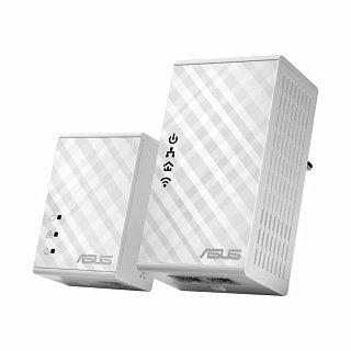 Powerline Ethernet Adapter ASUS PL-N12 Kit - 500Mbit, WiFi