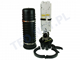 Mufa światłowodowa Tycon 400 B4-D-24S (tacka + patch panel)