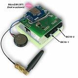 Nakładka GSM do Kontrolera LAN LK3 z funkcją UPS