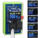 Moduł OLED/RTC/I2C (wyświetlacz żółto-niebieski) do kontrolera LAN LK3