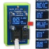 Moduł OLED/RTC/I2C (wyświetlacz niebieski) do kontrolera LAN LK3