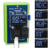 Moduł OLED/RTC/I2C (wyświetlacz biały) do kontrolera LAN LK3