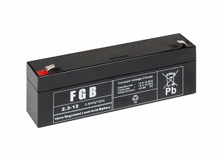 Akumulator bezobsługowy FGB 2.3-12 (12V 2,3Ah)