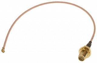 Pigtail U.FL-RP-SMA (gniazdo) - 30cm