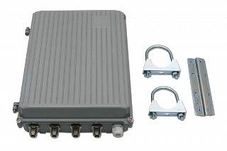 Skrzynka hermetyczna AluBOX - dla RouterBoard 433/800 + 2 pigtaile