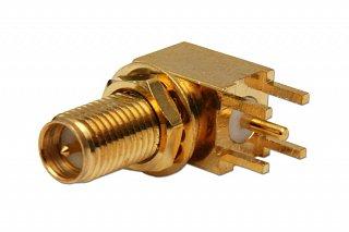 Konektor RP-SMA - gniazdo (do PCB)
