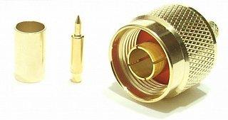 Konektor Nm (H155) GOLD