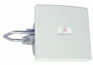 Antena panelowa Interline Panel 8dBi 2,4GHz - gniazdo Nż