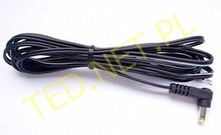 Kabel DC 1,5m - wtyk kątowy