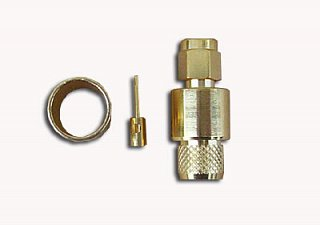 Konektor RP-SMA - wtyk (RF7, MRC-300)