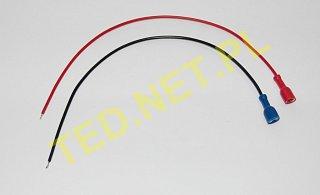 Kabel do podłączenia akumulatora - wtyk płaski