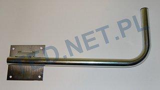 Uchwyt murowy boczny 60cm - prawy / lewy