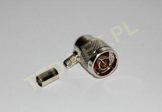 Konektor Nm (H155) - kątowy