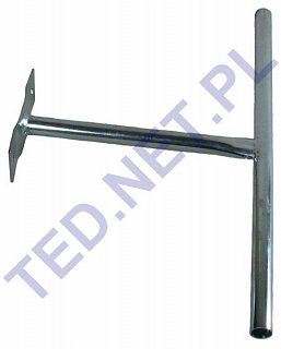 Uchwyt murowy do anten T