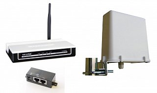Zestaw kliencki 2,4GHz (TP-Link WA-500G)
